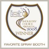 Favorite Spray Booth - Industry Choice Awards
